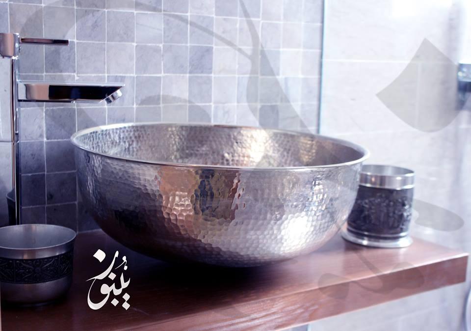 Vasque En Cuivre vasque cuivre martelé - artisans d'art