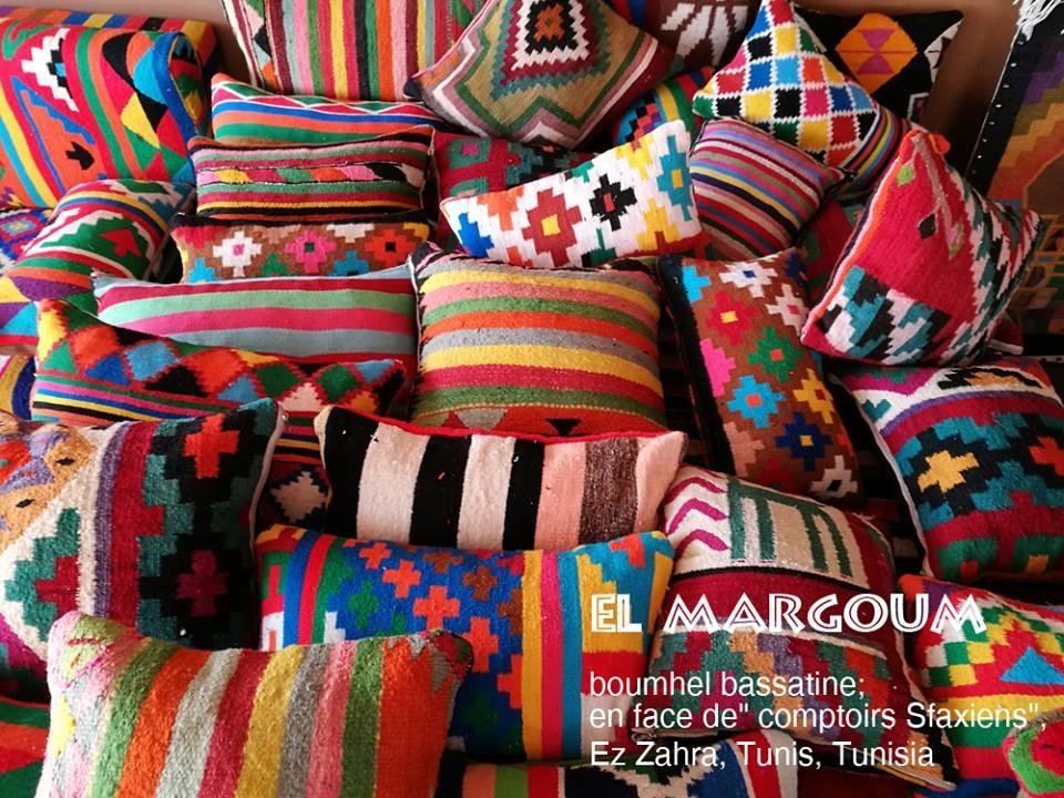 Coussins margoum artisans d 39 art for Objet artisanat d art