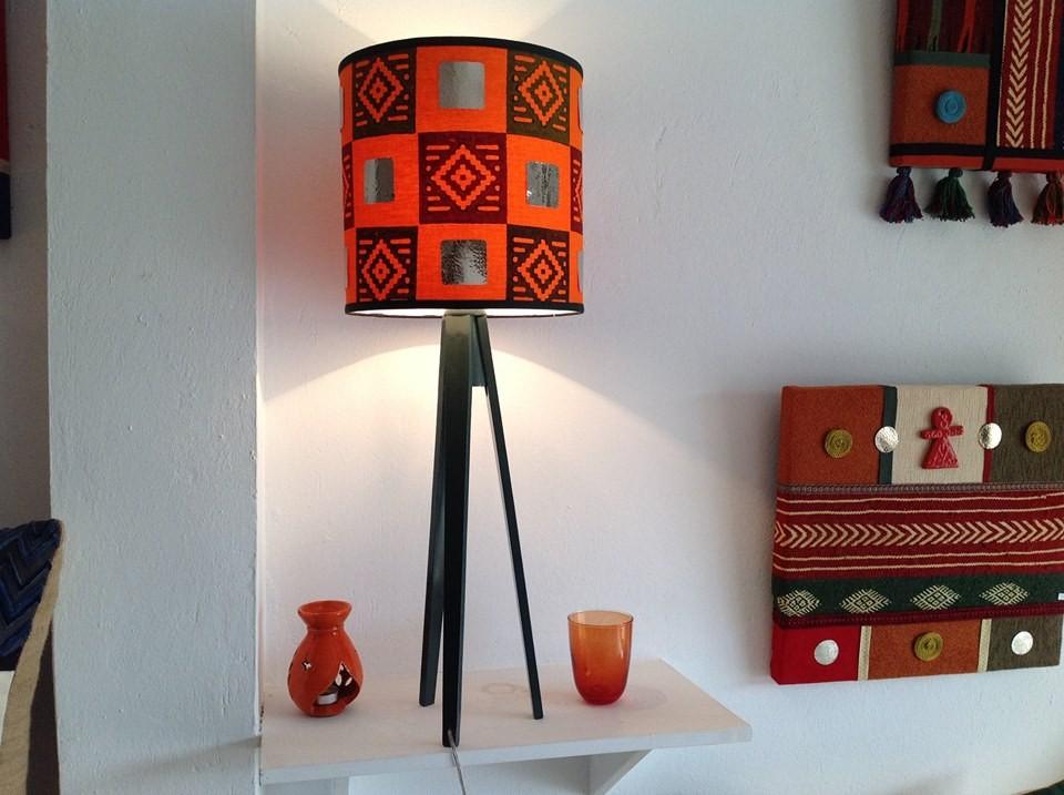Luminaire rouge artisans d 39 art for Luminaire rouge